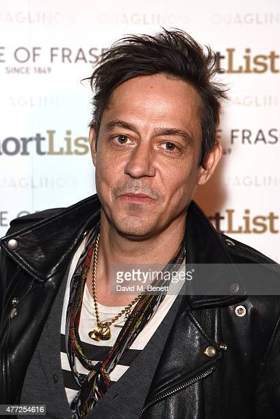 Jamie Hince attends the ShortList and House of Fraser London Collections Men closing night party 2015 at Quaglino's on June 15 2015 in London England