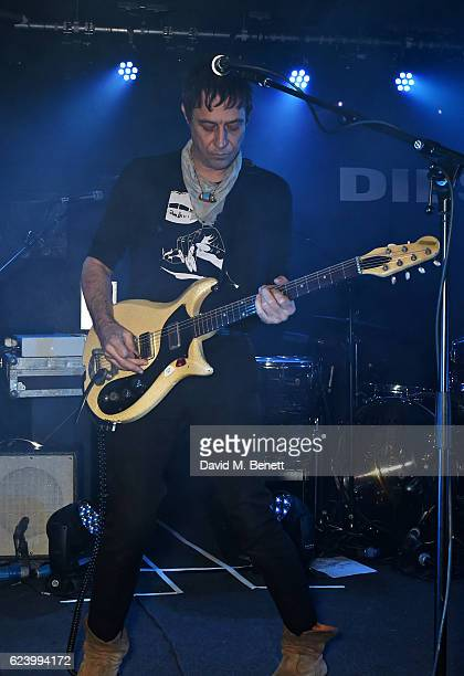 Jamie Hince of The Kills performs at Diesel's #forsuccessfulliving party on November 17 2016 in London England