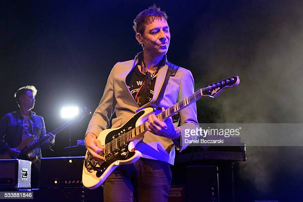 Jamie Hince of The Kills performs at Riviera Theatre on May 23 2016 in Chicago Illinois