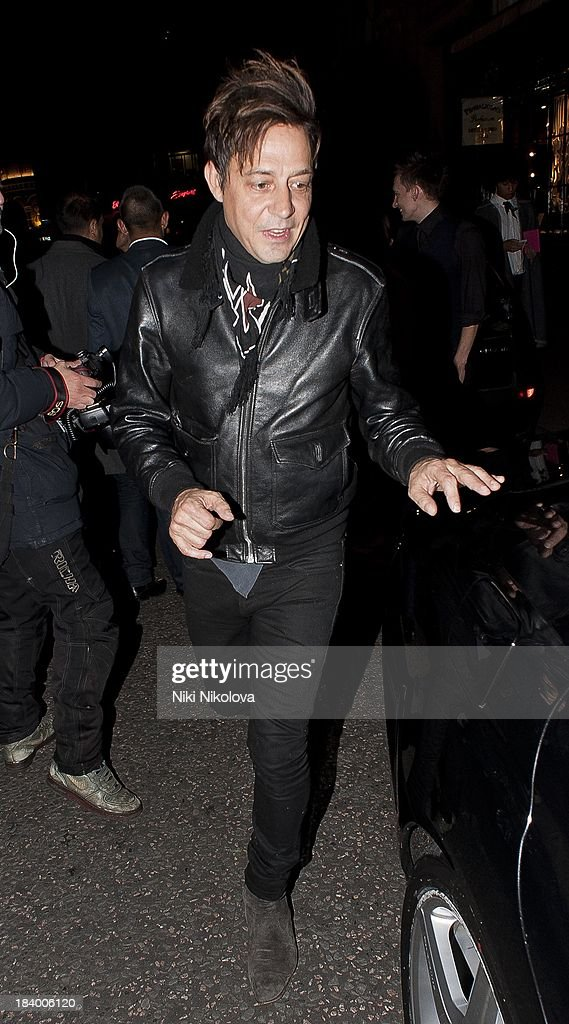 Jamie Hince sighted in Covent Garden on October 10, 2013 in London, England.