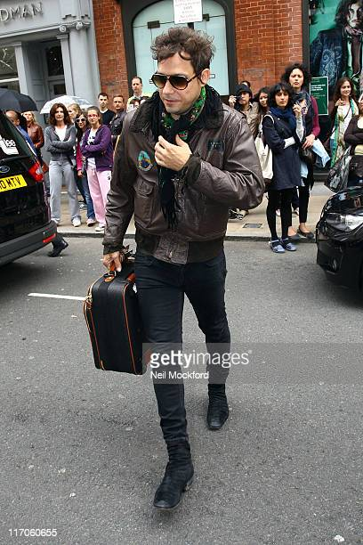 Jamie Hince sighted on Old Bond St on June 20 2011 in London England