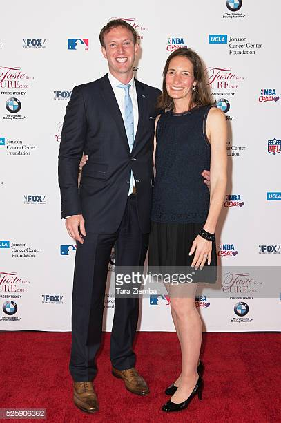 Jamie Horowitz and wife Kara Falkenstein attend Taste for a Cure Gala at the Beverly Wilshire Four Seasons Hotel on April 28 2016 in Beverly Hills...