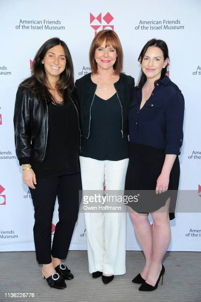 Jamie Horowitz Jill Bernstein and Julie Packin attend AFIM Spring Luncheon at The Rainbow Room on April 10 2019 in New York City