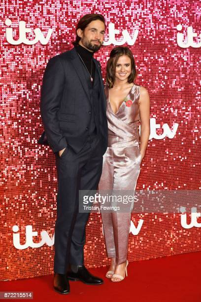 Jamie Jewitt and Camilla Thurlow arriving at the ITV Gala held at the London Palladium on November 9 2017 in London England