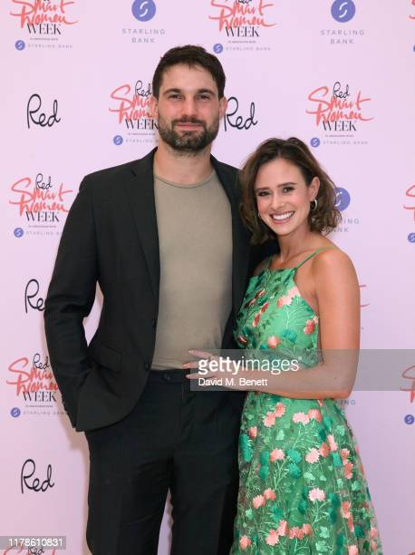 Jamie Jewitt and Camilla Thurlow attend Red Magazine's Smart Women Week 2019 launch party in association with Starling Bank on October 02 2019 in...