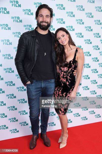 Jamie Jewitt and Camilla Thurlow attend the Into Film Award 2019 at Odeon Luxe Leicester Square on March 04 2019 in London England