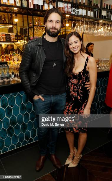 Jamie Jewitt and Camilla Thurlow attend the Into Film Awards at Odeon Luxe Leicester Square on March 04 2019 in London England