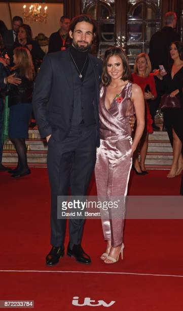Jamie Jewitt and Camilla Thurlow attend the ITV Gala held at the London Palladium on November 9 2017 in London England