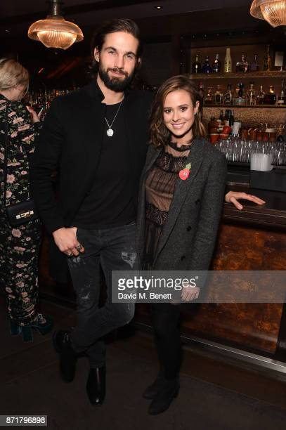 Jamie Jewitt and Camilla Thurlow attend the MTV Staying Alive gala at 100 Wardour St on November 8 2017 in London England