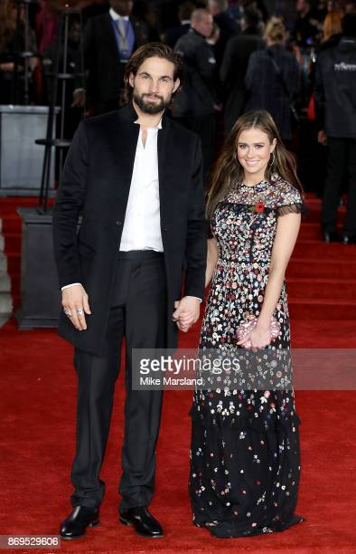 Jamie Jewitt and Camilla Thurlow attend the 'Murder On The Orient Express' World Premiere at Royal Albert Hall on November 2 2017 in London England