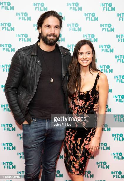 Jamie Jewitt and Camilla Thurlow attends the Into Film Award 2019 at Odeon Luxe Leicester Square on March 04 2019 in London England