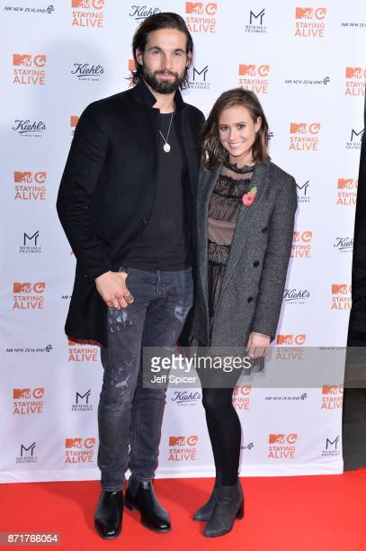 Jamie Jewitt and Camilla Thurlow during the 'MTV Staying Alive' gala at 100 Wardour Street on November 8 2017 in London England