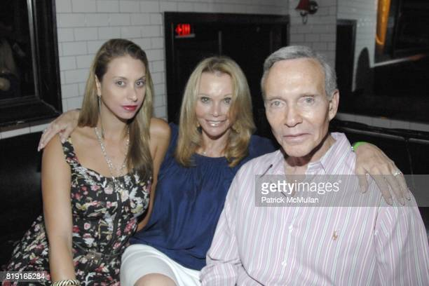 Jamie Jo Harris Fran Harris and Mel Harris attend Nic Roldan Shamin Abas and Tracy Mourning Host Hamptons Social Series Dinner For St Jude's at Lily...