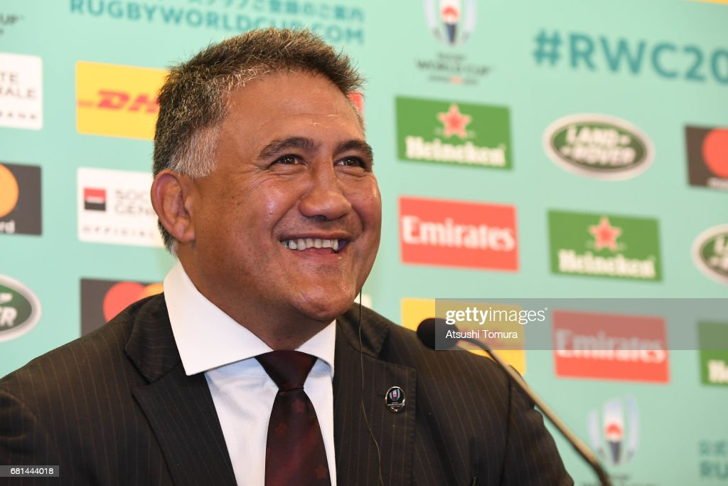 Rugby World Cup Pool Draw : ニュース写真