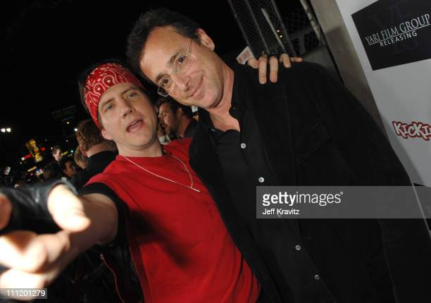 Jamie Kennedy and Bob Saget during Kickin' It Old Skool Los Angeles Premiere After Party at Music Box in Los Angeles California United States