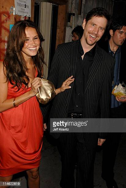 Jamie Kennedy and Heidi Mueller during First Annual Spike TV's Guys Choice - Backstage and Audience at Radford Studios in Los Angeles, California,...