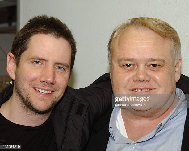 Jamie Kennedy and Louie Anderson during Laughter Heals Foundation Benefit Performance June 5 2005 at The Canyon Club in Agoura Hills California...