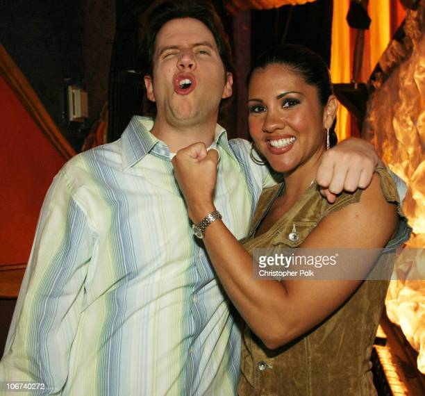 Jamie Kennedy and Mia St John during G4 Celebrates GPhoria A Live and Televised Celebration of Video Games at Henry Fonda Theatre in Hollywood...