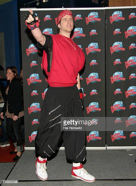 Jamie Kennedy at the Planet Hollywood in New York City New York