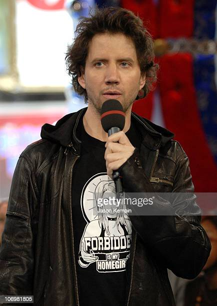 Jamie Kennedy during Ashley Parker Angel and Jamie Kennedy Visit MTV's TRL May 16 2006 at MTV Studios Times Square in New York City New York United...