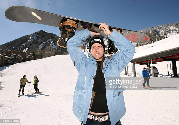 Jamie Kennedy during HBO's 13th Annual US Comedy Arts Festival USCAF Celebrity Ski and Snowboard Race at Aspen Mountain Nastar Course in Aspen...