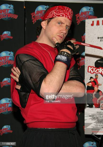 Jamie Kennedy during Jamie Kennedy and Casper Promote Their Film Kickin' It Old Skool at Planet Hollywood Times Square at Planet Hollywood in New...