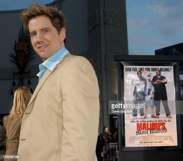Jamie Kennedy during Malibu's Most Wanted Los Angeles Premiere at Graumans Chinese Theater in Hollywood California United States