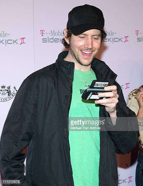 Jamie Kennedy during T-Mobile Limited Edition Sidekick II Launch - Arrivals at T-Mobile Sidekick II City in Los Angeles, California, United States.