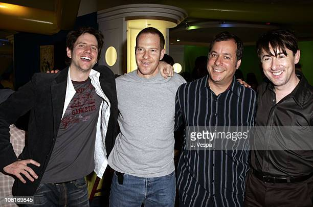 Jamie Kennedy Toby Emmerich guest and Alan Cumming