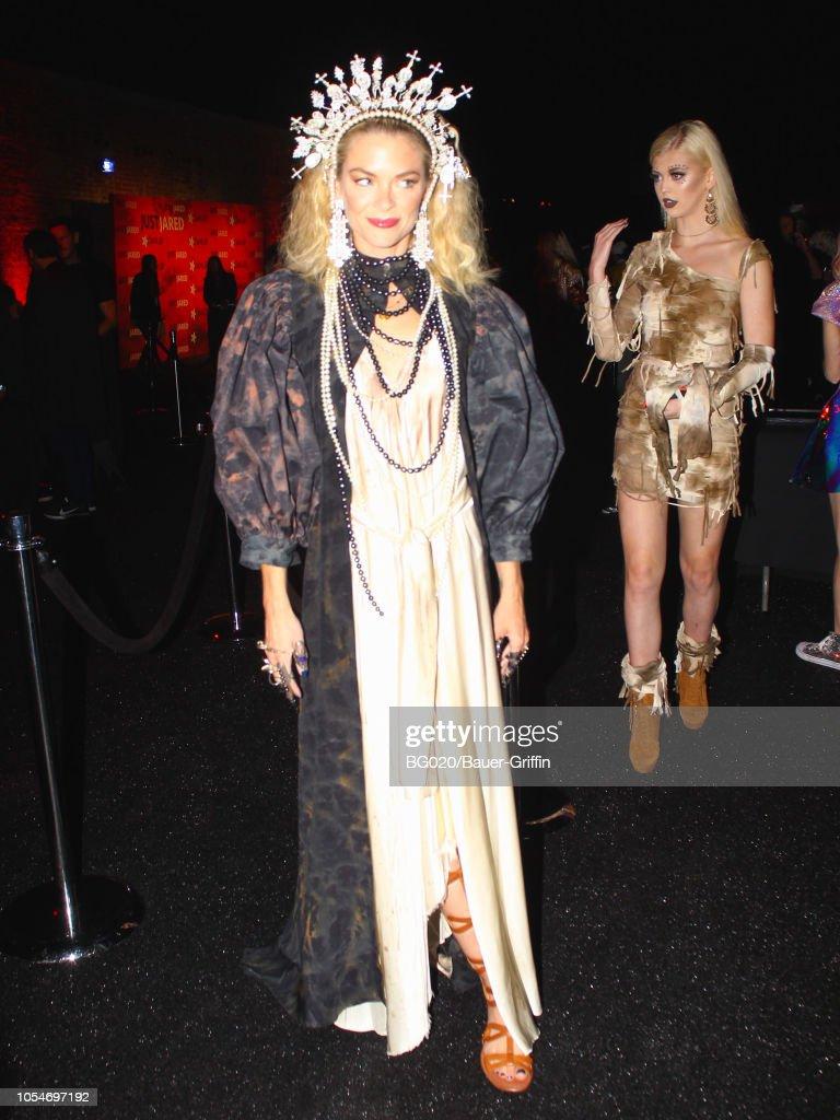 Celebrity Sightings In Los Angeles - October 27, 2018 : News Photo