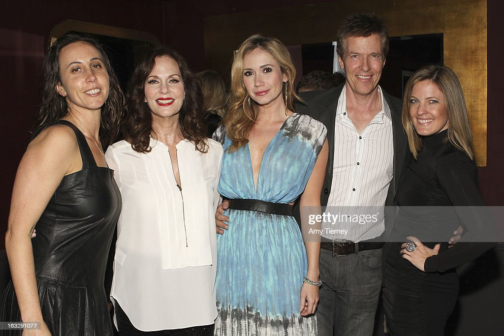 Jamie Kogan, Managing Director Step Up Women's Network, Lesley Ann Warren, Ashley Jones, Jack Wagner and Daniella Peters attend the Step Up Women's Network Women Who Rock Event at The Roxy Theatre on March 6, 2013 in West Hollywood, California.