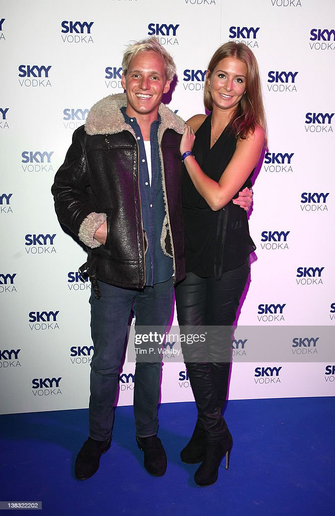 Jamie Laing and Millie Mackintosh pictured at The Skyy Vodka Global Flair Challenge Finals in London 2012 at Electric Brixton on February 5, 2012 in London, England.