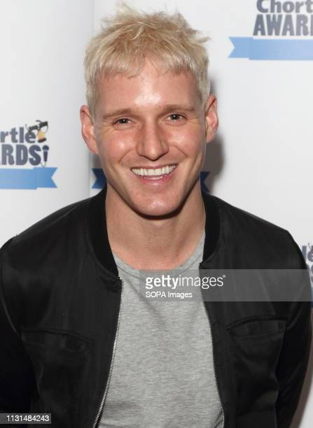 Jamie Laing at the Chortle Comedy Awards at FEST, Camden Town.