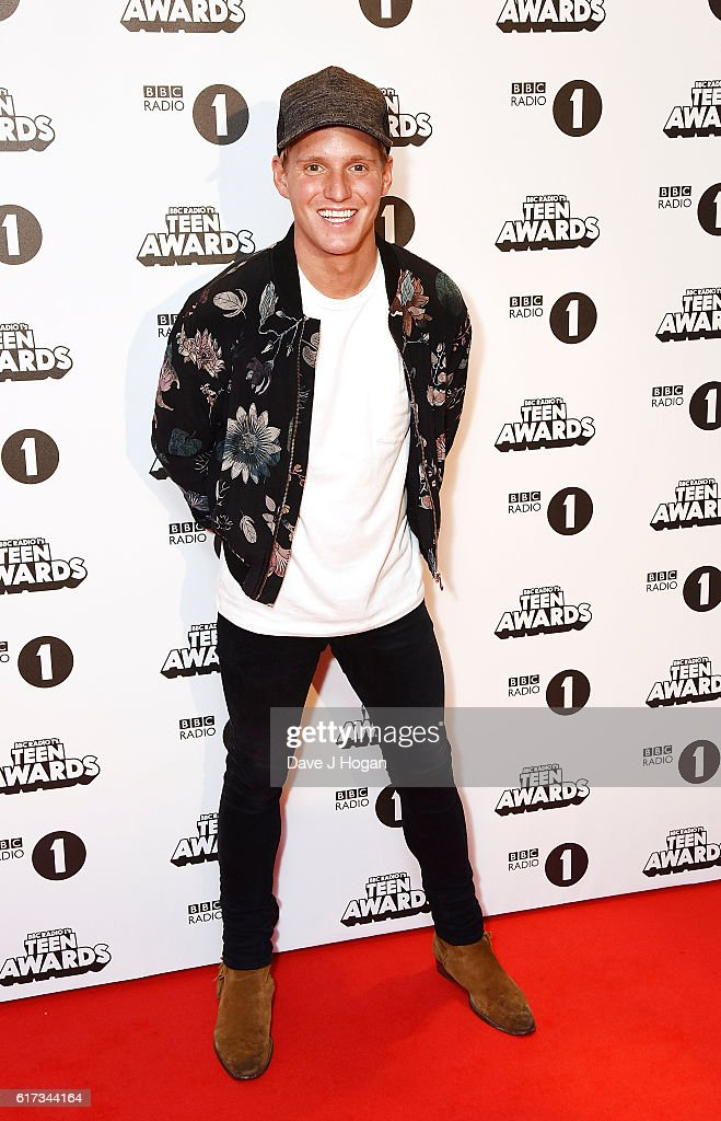 Jamie Laing attends the BBC Radio 1's Teen Awards at SSE Arena Wembley on October 23, 2016 in London, England.