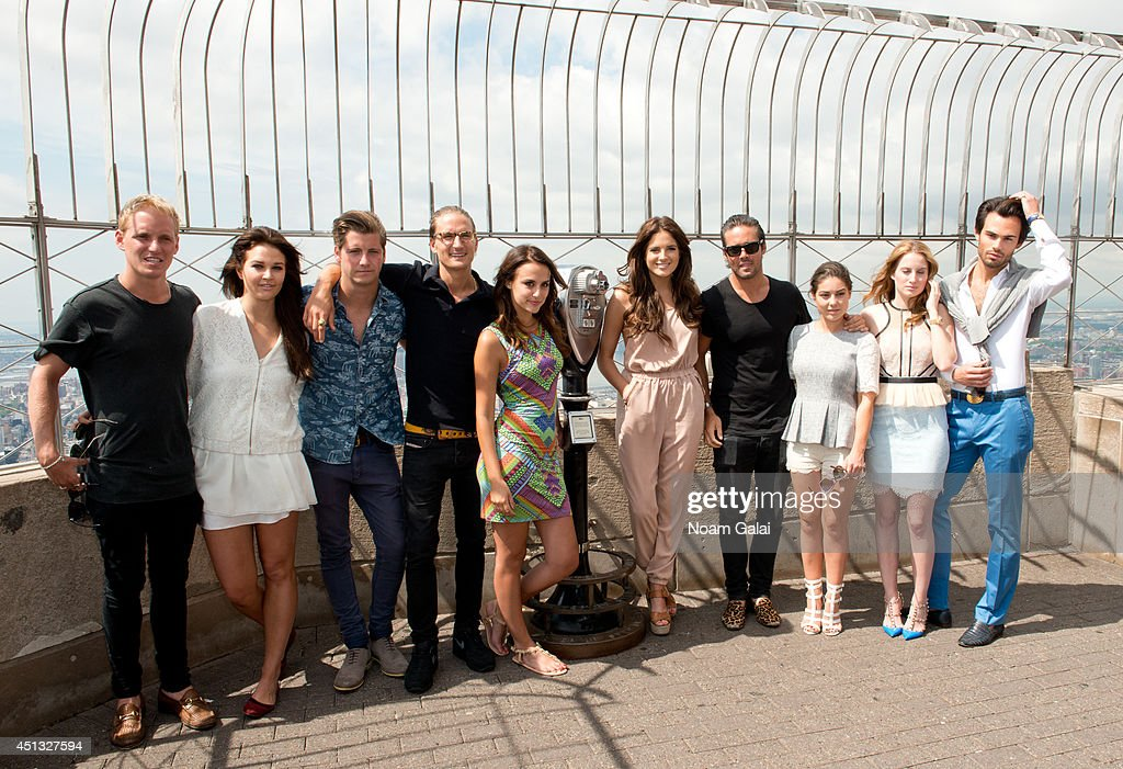 """The Cast Of """"Made In Chelsea: New York"""" Visits The Empire State Building"""