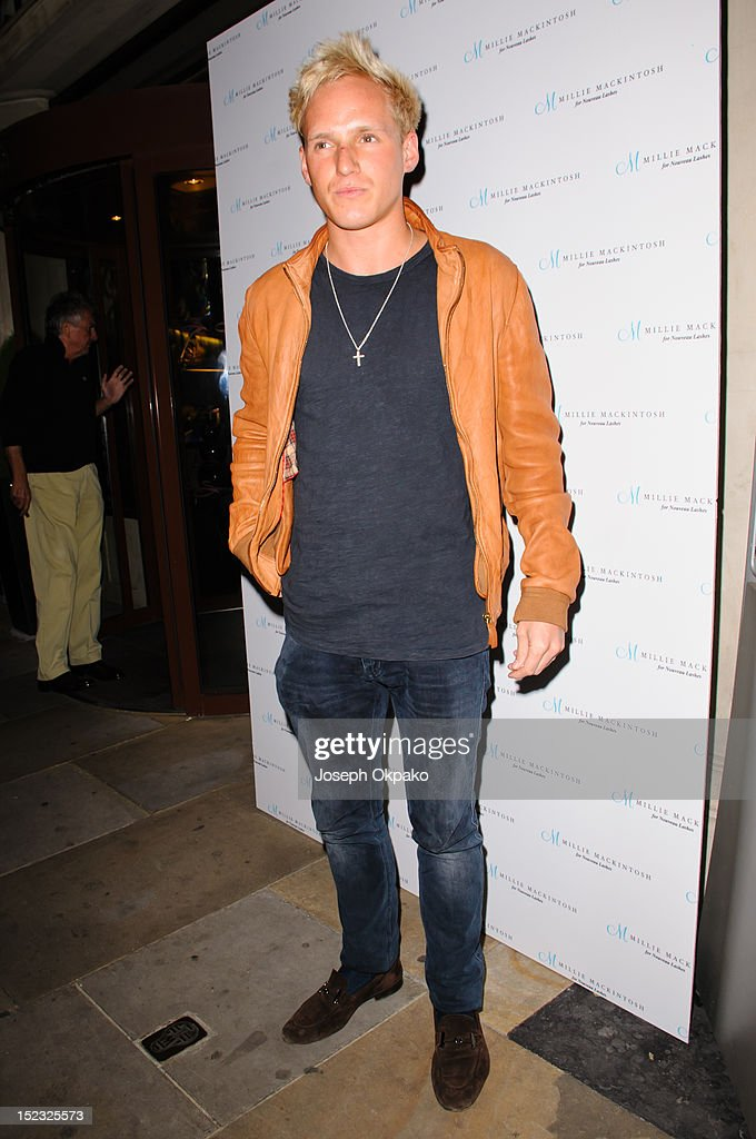 Jamie Laing from the cast of Made in Chelsea attends the launch of Millie Mackintosh's Nouveau lashes at Sanctum Soho on September 18, 2012 in London, England.