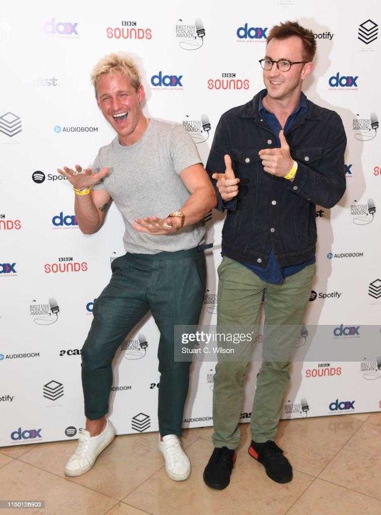 GBR: British Podcast Awards 2019 - Arrivals