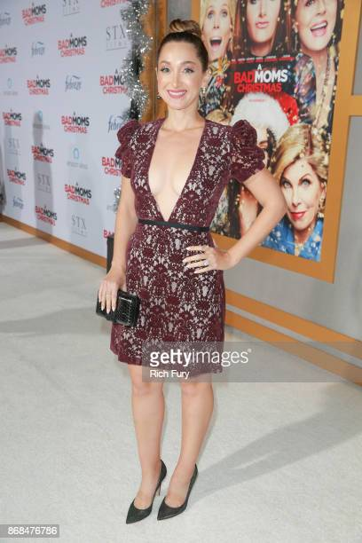 Jamie Lee attends the premiere of STX Entertainment's 'A Bad Moms Christmas' on October 30 2017 in Los Angeles California