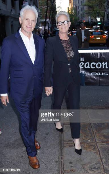 Jamie Lee Curtis and Christopher Guest are seen on April 27, 2019 in New York City.