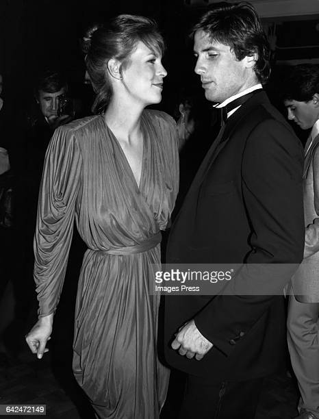 Jamie Lee Curtis and Hart Bochner circa 1981 in New York City