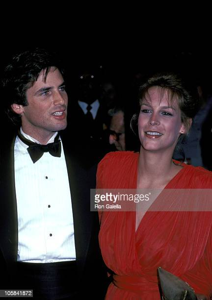 Jamie Lee Curtis and Hart Bochner during Rich and Famous New York Premiere at Ziegfeld Theater in New York City New York United States