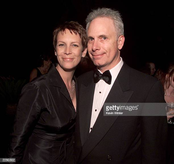 Jamie Lee Curtis and husband Christopher Guest at Comedy Central's postparty after the 15th Annual American Comedy Awards were taped at Universal...