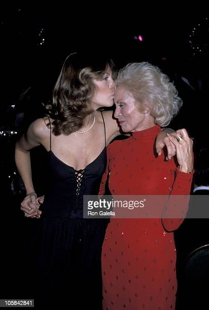 Jamie Lee Curtis and Janet Leigh during Celebrity Ball Atlantic City at Resorts International Hotel in Atlantic City New Jersey United States