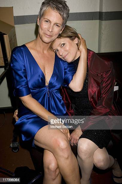 Jamie Lee Curtis and Kelly Curtis during 2007 What a Pair Benefiting the John Wayne Cancer Institute Show at The Orpheum Theatre in Los Angeles...