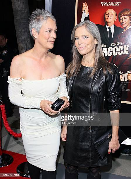 Jamie Lee Curtis and Kelly Lee Curtis attend the Hitchcock Los Angeles Premiere at the Academy of Motion Picture Arts and Sciences on November 20...