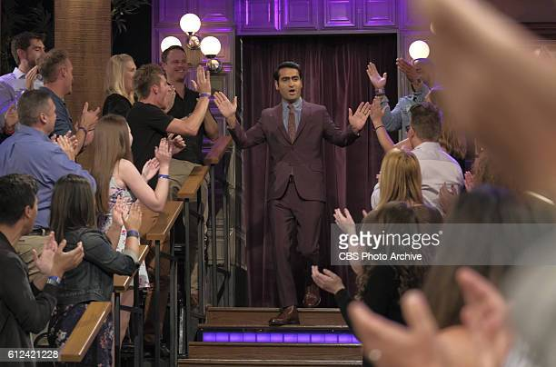 Jamie Lee Curtis and Kumail Nanjiani chat with James Corden during The Late Late Show with James Corden Monday October 3rd 2016 On The CBS Television...