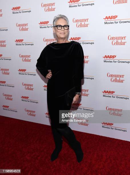 Jamie Lee Curtis arrives at AARP The Magazine's 19th Annual Movies For Grownups Awards at the Beverly Wilshire A Four Seasons Hotel on January 11...