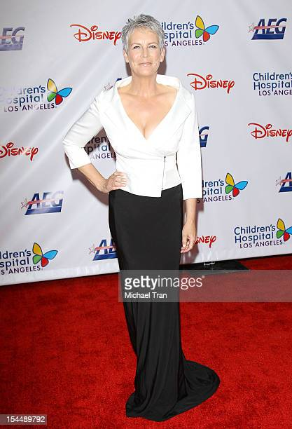 Jamie Lee Curtis arrives at Children's Hospital Los Angeles Gala Noche de Ninos held at LA Live Event Deck on October 20 2012 in Los Angeles...