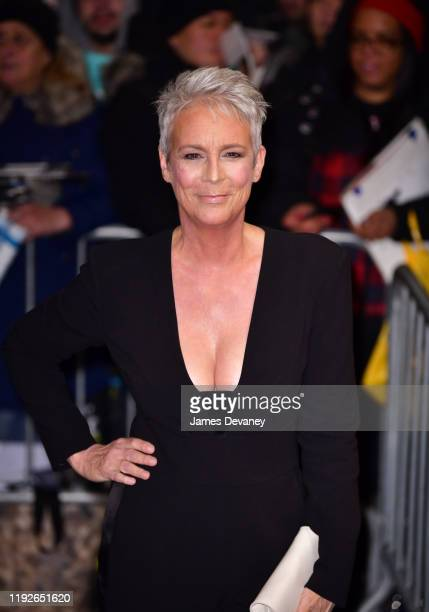 Jamie Lee Curtis arrives to the 2020 National Board Of Review Gala at Cipriani 42nd Street on January 8 2020 in New York City