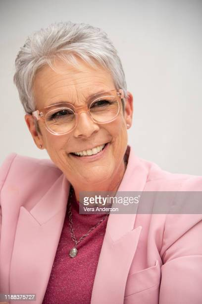Jamie Lee Curtis at the Knives Out Press Conference at the Four Seasons Hotel on November 15 2019 in Beverly Hills California